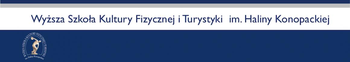 WSKFiT Wyższa Szkoła Kultury Fizycznej i Turystyki Logo